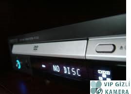 DVD PLAYER GİZLİ KAMERA
